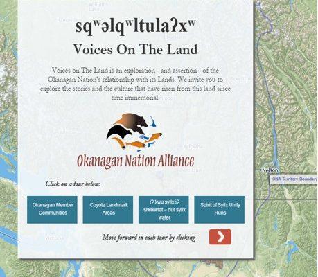 sqʷəlqʷltulaʔxʷ Voices on the Land – Okanagan Nation Alliance